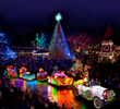 Silver Dollar City presents the new $1 million Rudolph's Holly Jolly™ Christmas Light Parade for its An Old Time Christmas festival in Branson, Missouri.
