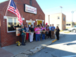 Ribbon Cutting at Love-A-Latte Coffee and Tea House in Eldora, Iowa