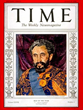 King Haile Selassie-Time Magazine Man of the Year in 1936