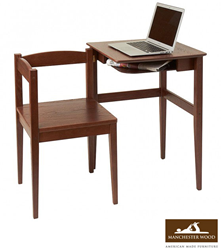 Manchester Wood - Compact Workstation Table