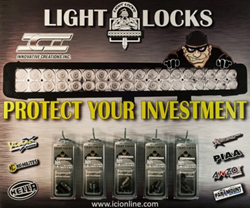 Picture of Light Locks packages available for retail