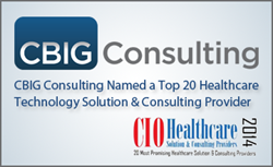 healthcare data analytics consulting award
