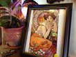 Maggie May framed art