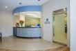 Promenade Dental Care reception area