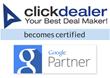 ClickDealer Becomes A Certified Google Partner