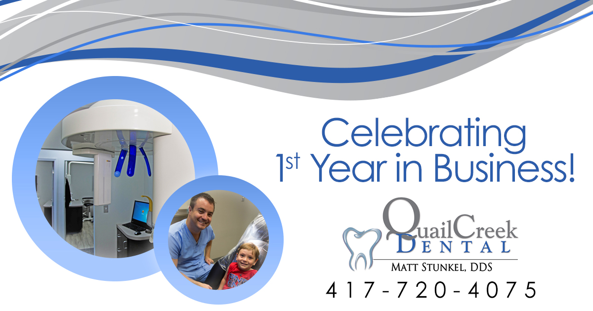 Quail creek dental celebrates its first year in business