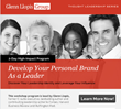 Develop Your Personal Brand As a Leader Workshop to Launch February...