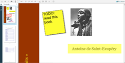 DocuVieware with annotations
