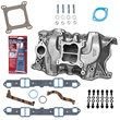 Summit Racing Intake Manifold and Installation Pro Pack for Small Block Chrysler V8