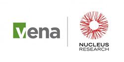 Vena has achieved Leader Status in Nucleus Research's 2014 Value Matrix