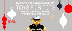 WCG Hotels and Toys for Tots