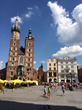 Market Square in Krakow Poland