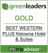 Best Western Kelowna Hotel Wins TripAdvisor's GreenLeaders Award