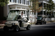 The new solar drive charging panels can also be used on the Club Car Villager LSV.