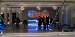Somerset Lobby 3d Projection Mapping