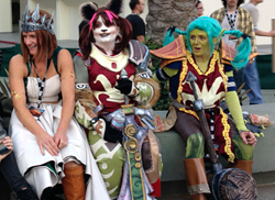 Aiming to bring awareness to her cancer, the 64-year-old 'WoW Mom' works through her bucket list, which includes attending BlizzCon in full cosplay,