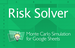 Risk Analysis using Monte Carlo Simulation for Google Sheets