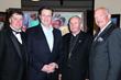 Nick Jordan, Anthony Kearns, Bishop Tod Brown and Finbar Hill, Photo by Bob Delgadillo