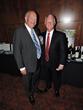 Hon Consul General of Ireland Mr Finbar Hill and Dr Aidan Raney - photo by Besim Islami