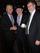 Board member Greg Weiler with Gil Ribald and David Werner - Photo by Besim Islami