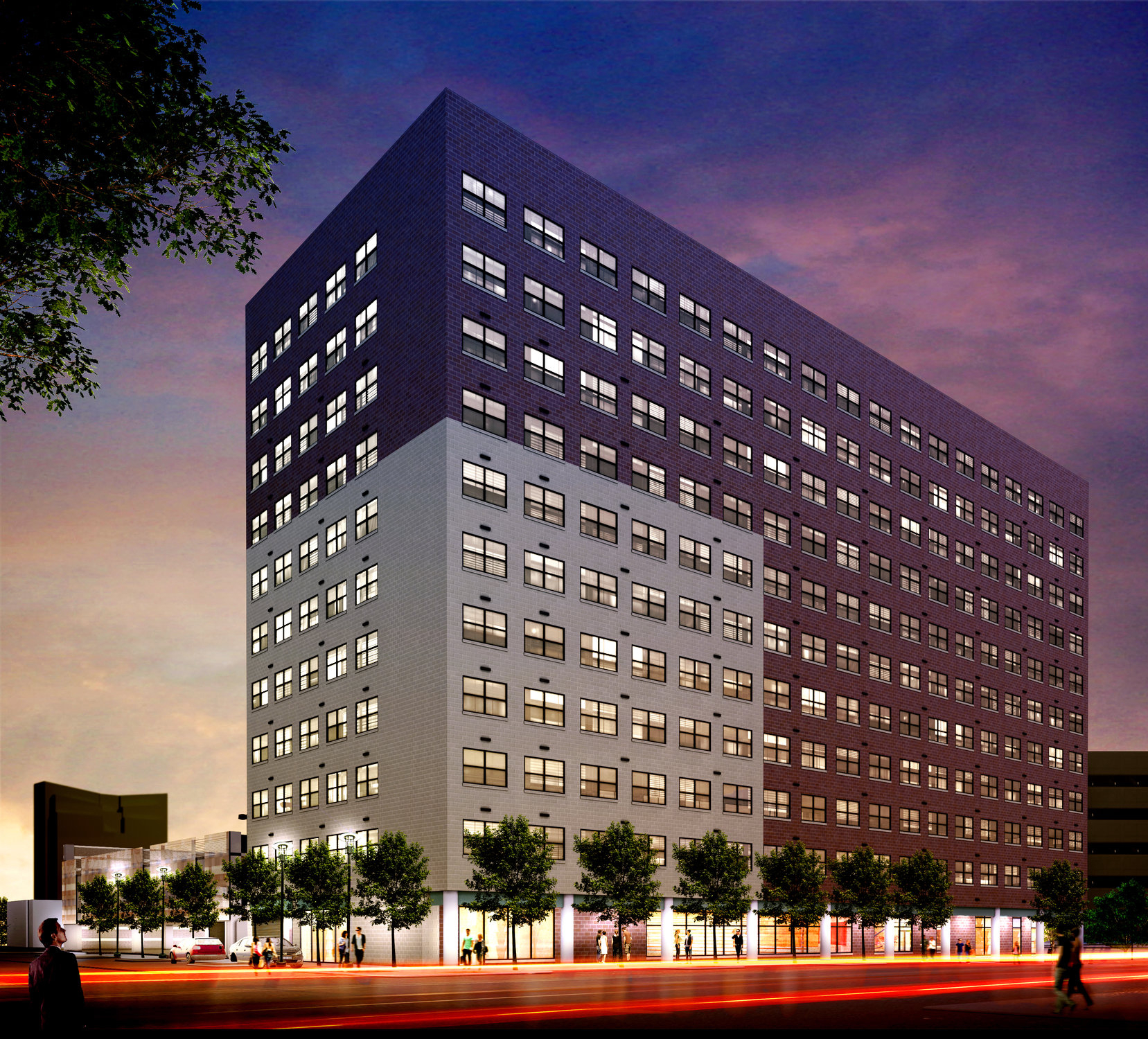 Apartments In Downtown: Transformation Of Historic Hunter Plaza Into Affordable