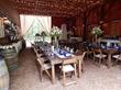 Scents of Cedar Barn set for a wedding