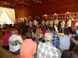 Scents of Cedar wedding party