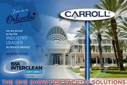 Carroll Company to Exhibit at ISSA/INTERCLEAN North America