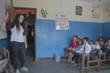 Delphian School senior Hannah teaching students in Nepal