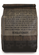 Barrel Brand Coffee bag back