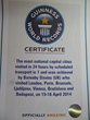 Barnaby Davies Guinness Book Certificate