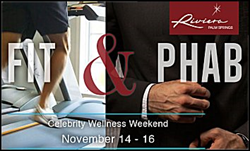 Fit and Phab Celebrity Fitness Weekend at the Riviera in Palm Springs