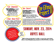 Elfman Project III Invitation