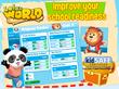 Lola Panda® Discovers a Whole New World…The Lola's World App...
