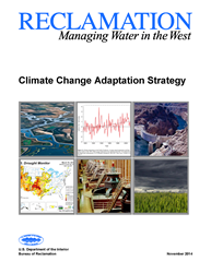 Cover of Reclamation's Climate Change Adaptation Strategy