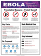 Accuform Signs Creates Two Informative Ebola Posters