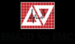Logo for EMA3D for EMC