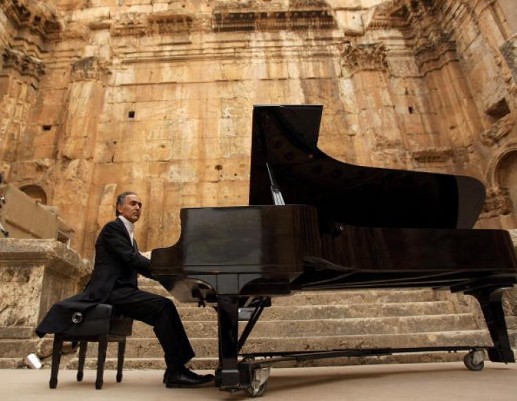 lebanese pianist abdel rahman el bacha and stefan
