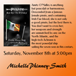 Pirate- Michelle Phinney-Smith 11-08-14