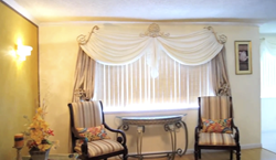 Crystal Drapery Hardware Complete Window Treatment