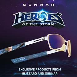 GUNNAR Heroes of the Storm Nova Header Image