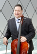 Eric Smith, Dallas Bach Society's principal cellist and featured performer for this weekend's concert series.