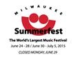 Summerfest Announces Second Marcus Amphitheater Headliner for 2015