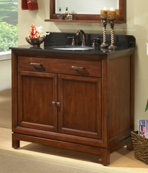"""Modena 30"""" Solid Maple Wood Bathroom Vanity Cabinet md3021d from Sagehill Designs"""