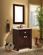"""Portafino 30"""" Solid Oak Bathroom Vanity PF3021D from Sagehill Designs"""