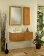 """Lincoln Street 24"""" Wall Mount Maple Wood Bathroom Vanity Cabinet LS2418D from Sagehill Designs"""