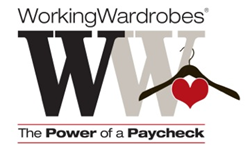 working wardrobes, the power of a paycheck, donate to working wardrobes, orange county veterans assistance