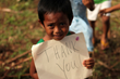 Five-year-old Chip Chip is one of the estimated five million children affected by Typhoon Haiyan. (ShelterBox)