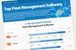 Top 20 Fleet Management Software Infographic