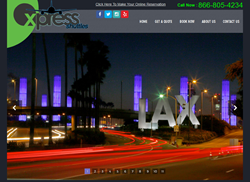 Home Page Xpress Shuttles Website